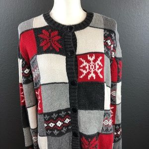 Sweaters - Rebecca Stone Christmas Sweater Sz Large